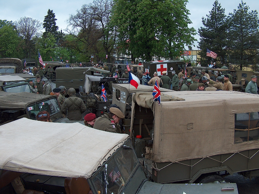 Liberation of Pilsen CZ