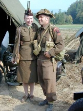 British Army Couple