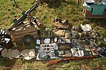 Persönliches Equipment eines britischen Soldaten