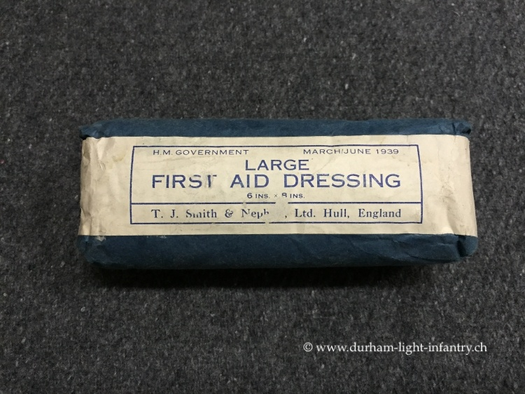 Large First Field Dressing