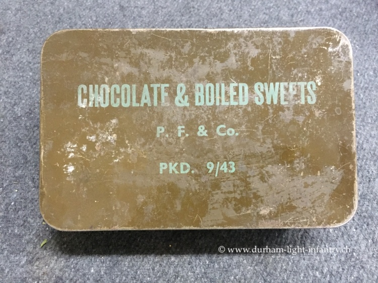 Chocolate & boiled Sweets Tin