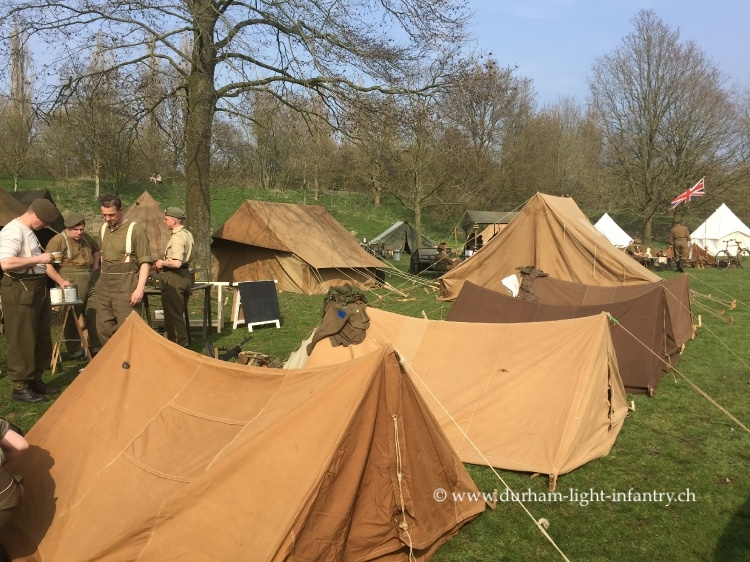 WW2 British Tents