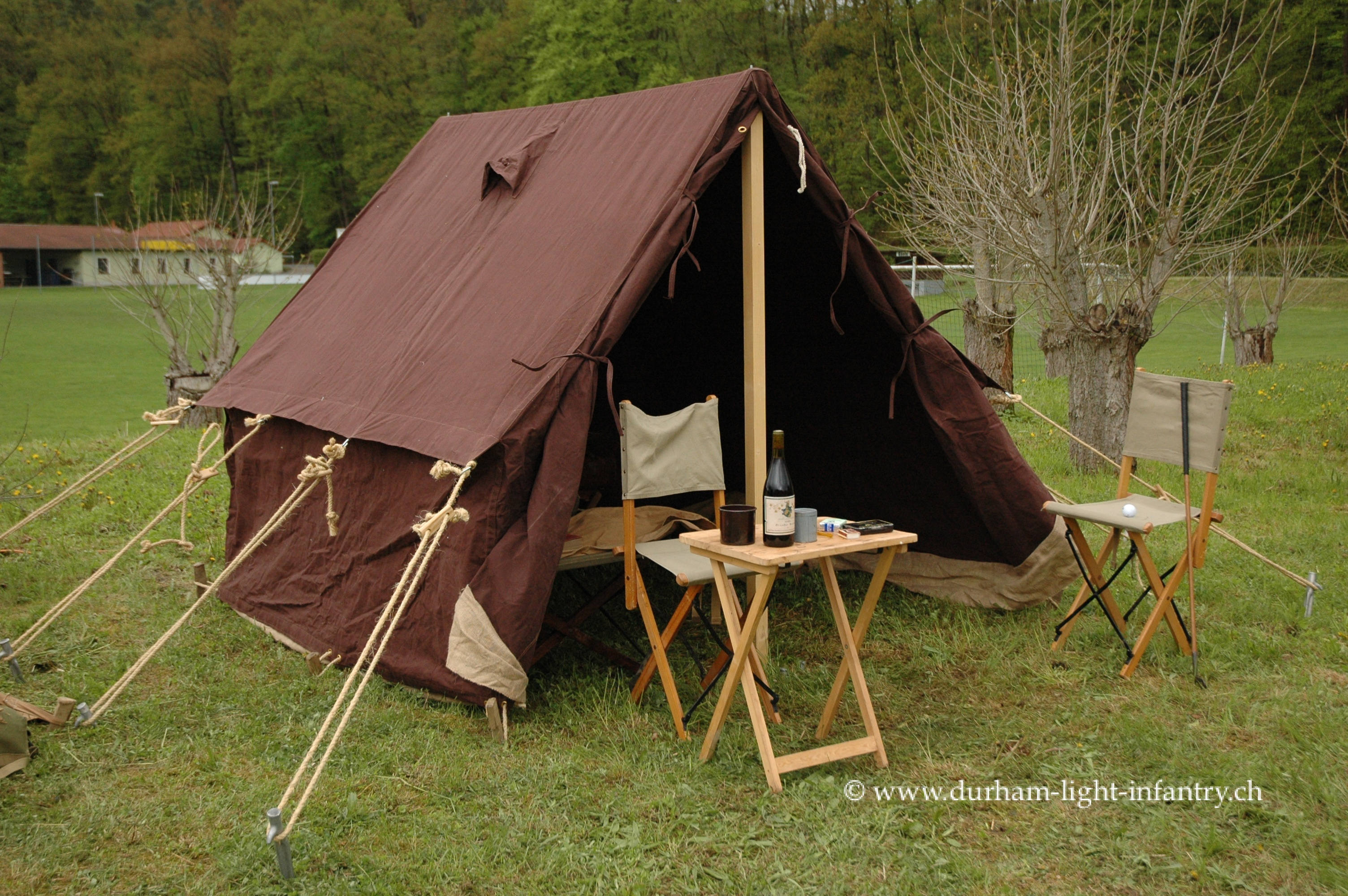 WW2 British Army Officer's tent
