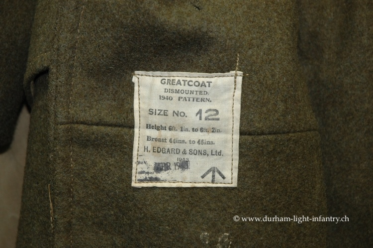 Great Coats Labels