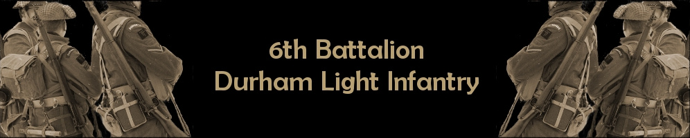 6th Bn. Durham Light Infantry re-enactment Group Switzerland